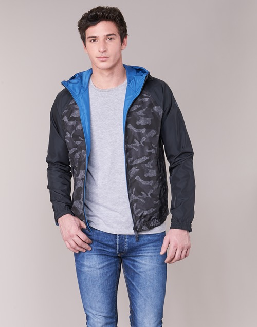 Clothing Men Jackets Armani jeans MIRACOLA Grey