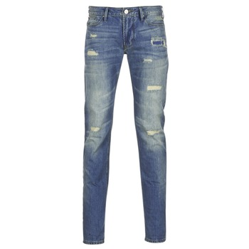 Clothing Men slim jeans Armani jeans NAKAJOL Blue