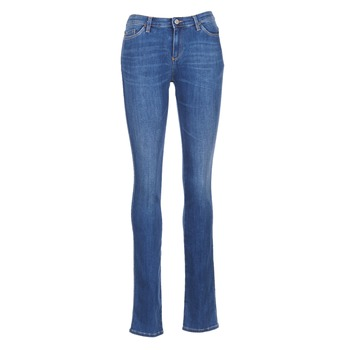 Clothing Women straight jeans Armani jeans HOUKITI Blue