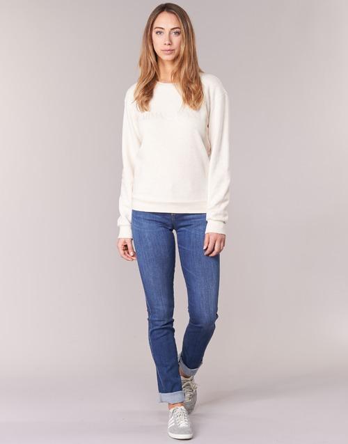Clothing Women Straight jeans Armani jeans HOUKITI Blue