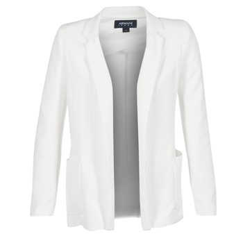 Clothing Women Jackets / Blazers Armani jeans FAGRATO White