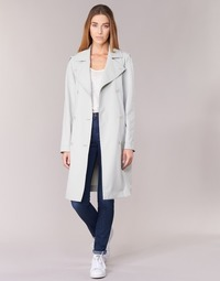 Clothing Women Trench coats Armani jeans HAVANOMA White