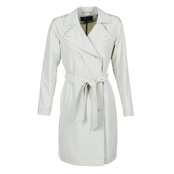 Clothing Women Trench coats Armani jeans HAVANOMA White