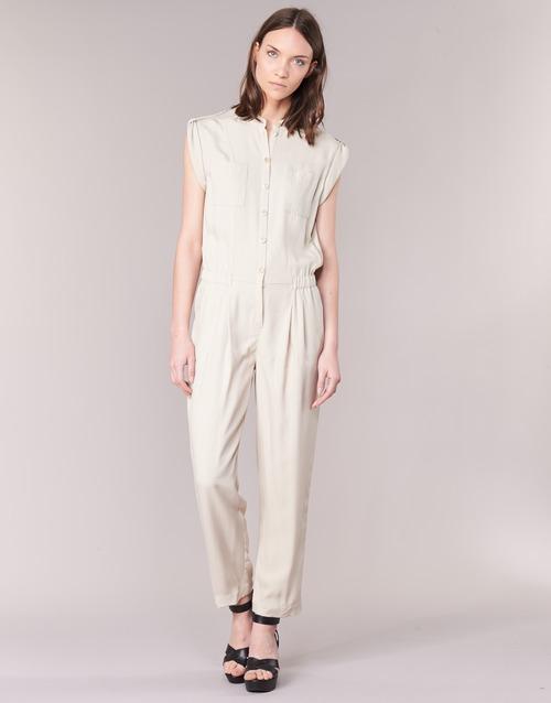 Clothing Women Jumpsuits / Dungarees Armani jeans FOFFIA Beige