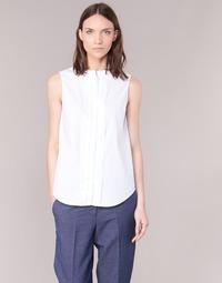 Clothing Women Shirts Armani jeans GIKALO White