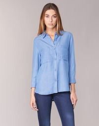 Clothing Women Shirts Armani jeans OUSKILA Blue