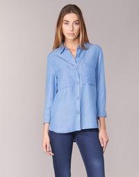Clothing Women Shirts Armani jeans OUSKILA Blue