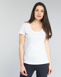 Clothing Women short-sleeved t-shirts Armani jeans LASSERO White