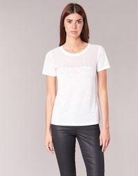 Clothing Women short-sleeved t-shirts Armani jeans KAJOLA White