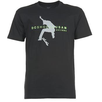 Clothing Men short-sleeved t-shirts DC Shoes FBF 94 SS Black