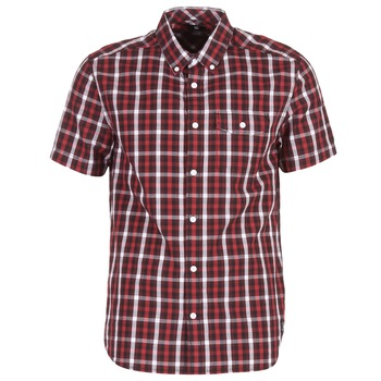 Clothing Men short-sleeved shirts DC Shoes ATURA 5 SS Red