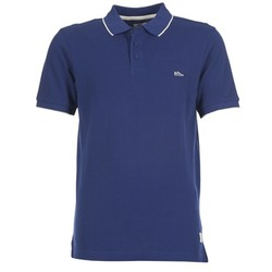 Clothing Men short-sleeved polo shirts DC Shoes MILNOR Marine