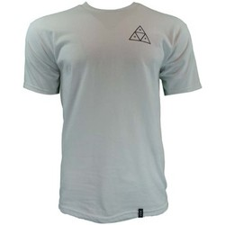 Clothing Men short-sleeved t-shirts Huf Triple Triangle Tee white