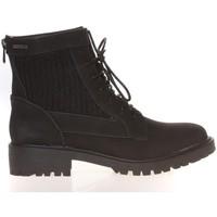 Shoes Women Mid boots Cassis Côte d'Azur Cassis Côte d' azur Bottine Amanda Noir Black