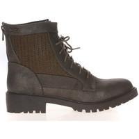 Shoes Women Mid boots Cassis Côte d'Azur Cassis Côte d' azur Bottine Amanda Kaki Green