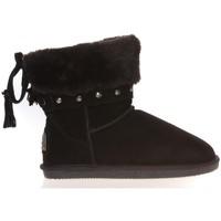 Shoes Women Mid boots Ilario Ferucci Boots Rebus Noir Black