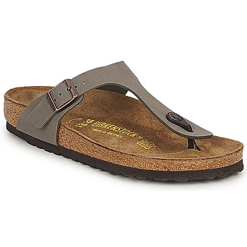 Shoes Sandals Birkenstock GIZEH Stone