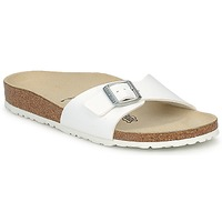 Shoes Women Mules Birkenstock MADRID White / Matt
