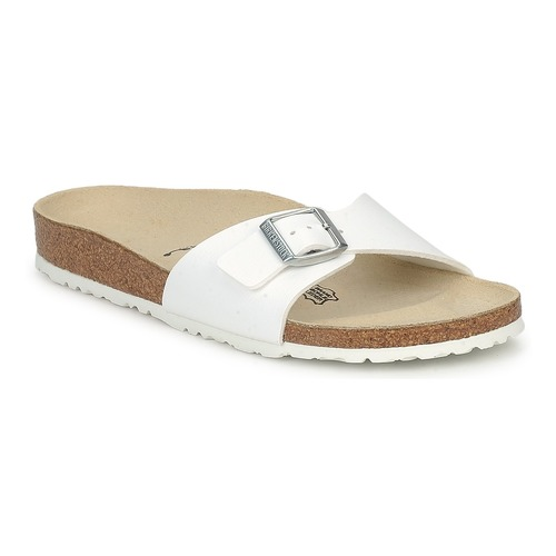 Shoes Women Mules Birkenstock MADRID White / Matt