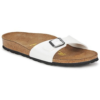 Shoes Women Mules Birkenstock MADRID White / Mother-of-pearl