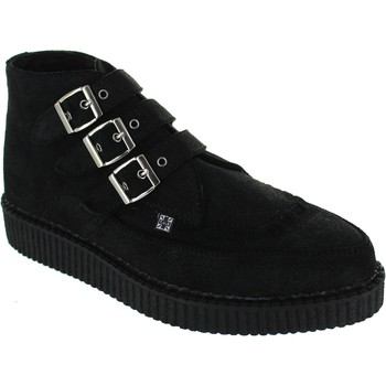 Shoes Men Mid boots T.u.k. A8996 Black