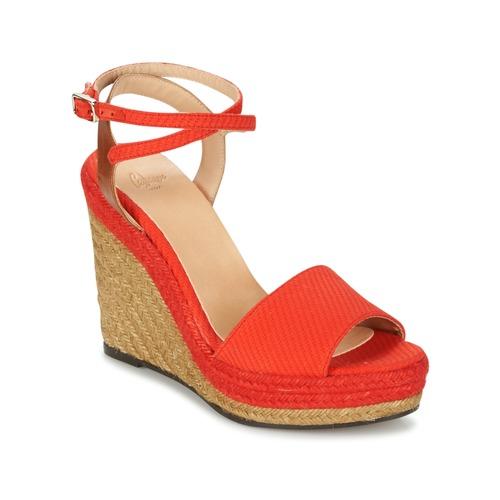 Shoes Women Sandals Castaner ADELA Red