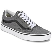 Shoes Low top trainers Vans OLD SKOOL Grey / Chambray / Black