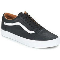 Shoes Men Low top trainers Vans OLD SKOOL Black / White