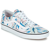 Shoes Women Low top trainers Vans OLD SKOOL Tropical / White