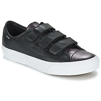 Shoes Women Low top trainers Vans PRISON ISSUE Black / METAL / White