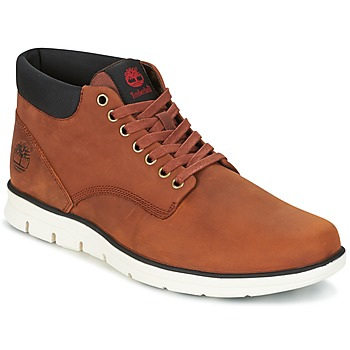 Shoes Men Mid boots Timberland Bradstreet Chukka Leather MEDIUM / Brown / Full-grain