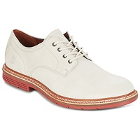 Shoes Men Derby Shoes Timberland NAPLES TRAIL OXFORD White