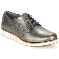 Shoes Women Derby Shoes Timberland LAKEVILLE OX Silver