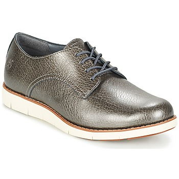 Shoes Women Derby Shoes Timberland LAKEVILLE OX Grey
