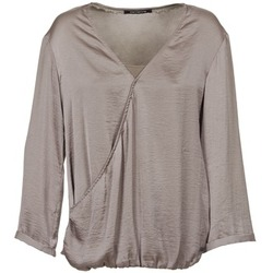Clothing Women Tops / Blouses Fornarina CORALIE Taupe