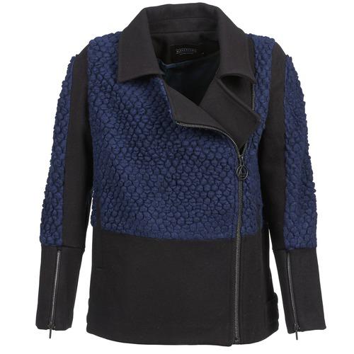 Clothing Women Jackets Eleven Paris FLEITZ Black / Blue