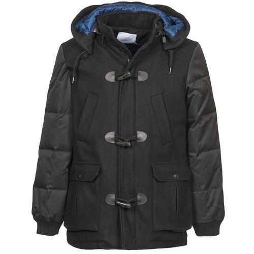 Clothing Men coats Eleven Paris KINCI Black
