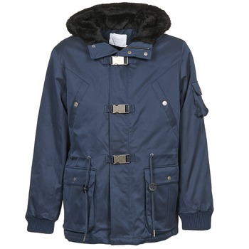 Clothing Men Parkas Eleven Paris KASUAL Marine