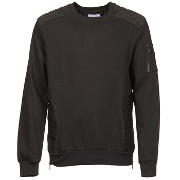 Clothing Men sweaters Eleven Paris KOUK Black