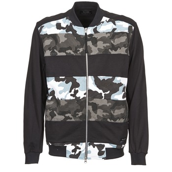 Clothing Men Jackets Religion CAMO Black / Grey