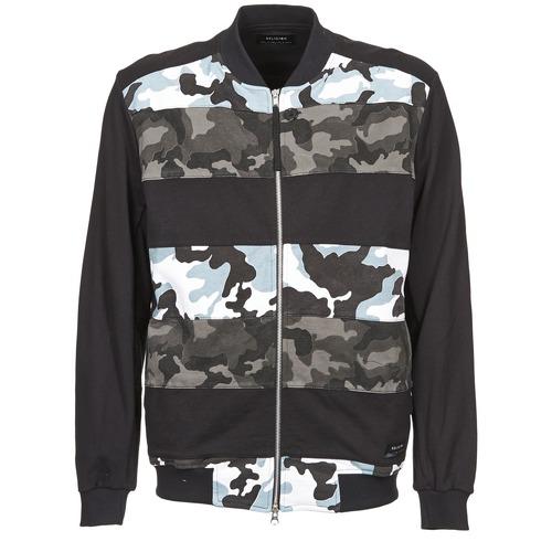 Clothing Men Jackets Religion CAMO Black / Grey