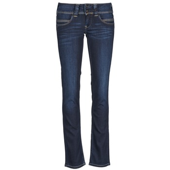 Clothing Women straight jeans Pepe jeans VENUS Blue