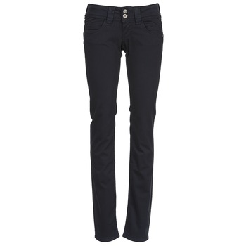 Clothing Women 5-pocket trousers Pepe jeans VENUS Black