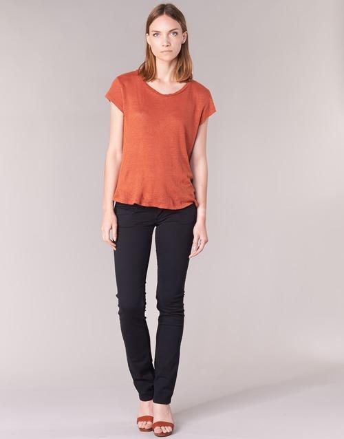 Clothing Women 5-pocket trousers Pepe jeans VENUS Black / 999