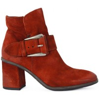 Shoes Women Ankle boots Kammi MYUS POLACCO IN PELLE Rosso
