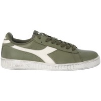 Shoes Men Low top trainers Diadora GAME LOW  WAXED OLIVE     78,8