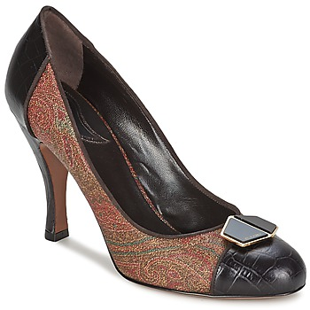 Shoes Women Heels Etro 3074 Brown