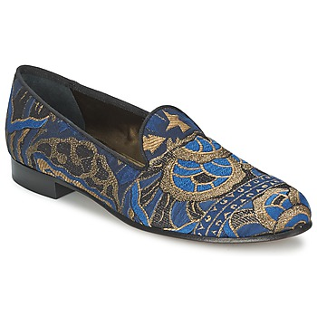 Shoes Women Loafers Etro 3046 Black / Blue