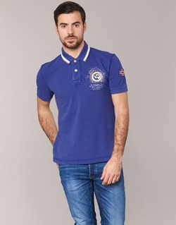 Clothing Men short-sleeved polo shirts Napapijri GANDYS Blue