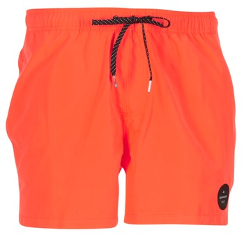 Clothing Men Trunks / Swim shorts Quiksilver EVERYDAY SOLID VOLLEY 15 Red